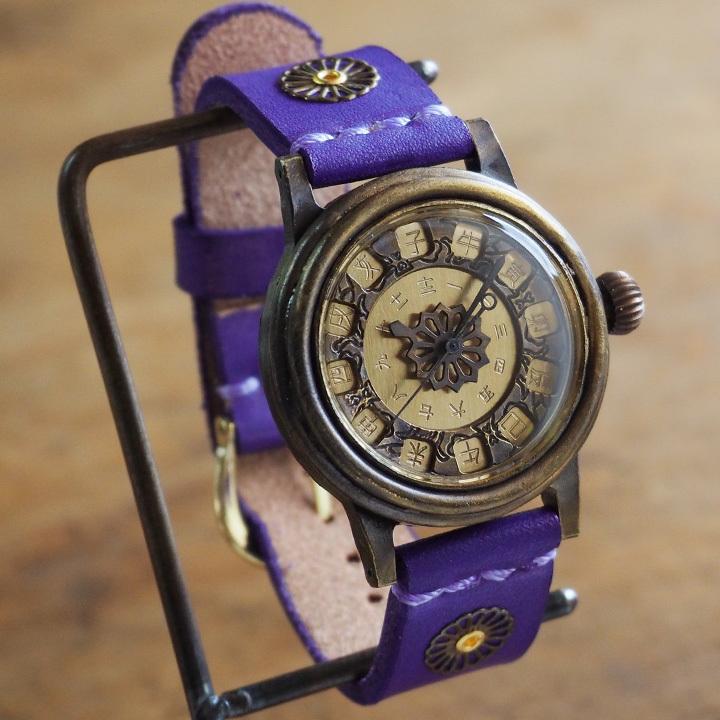 44155911c0 浴衣にも合う、和風の腕時計…KS(ケーエス) JHA・日本手作り腕時計協会 ...