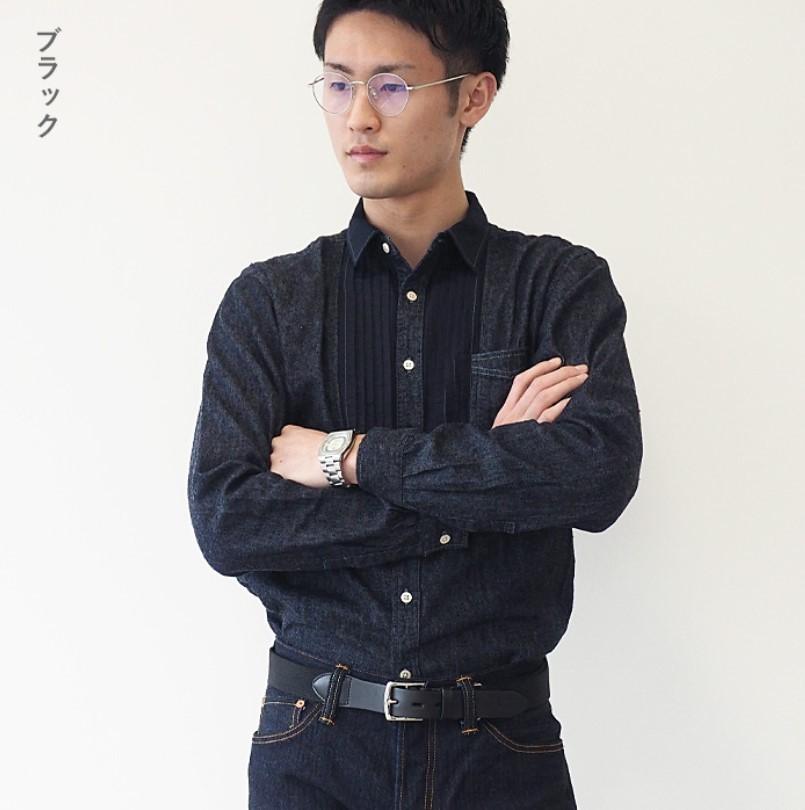 【2色から選べます】Dady(ダディ) 栃木レザートゥワイスタンニンオイルレザー×ゴムコンビベルト メンズ 30mm/35mm幅